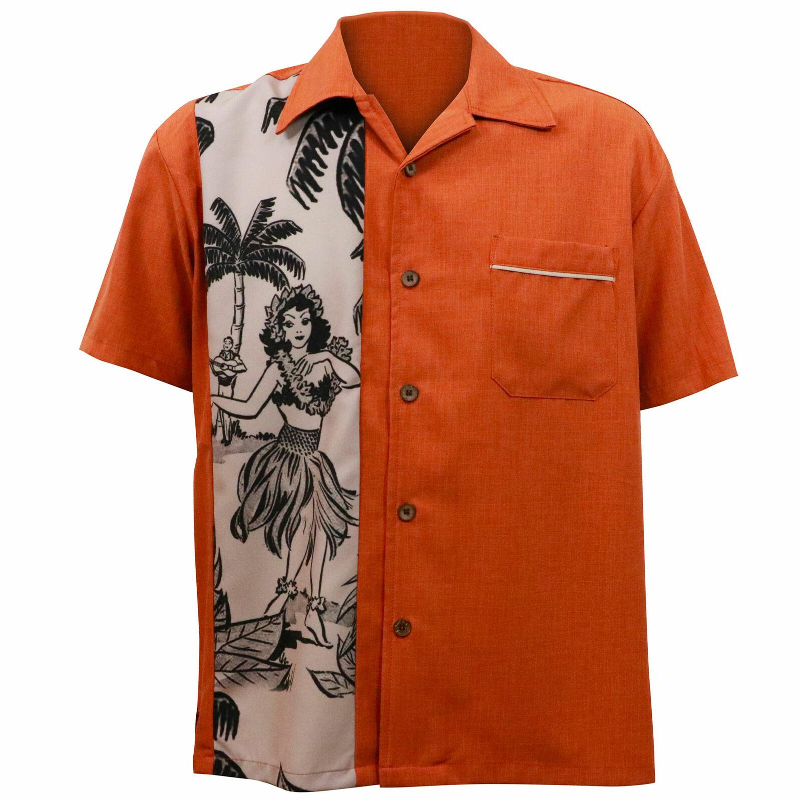 Steady clothing el  único panel de óxido Botones Leilani Bowling camisa S-4XL Nuevo  moda