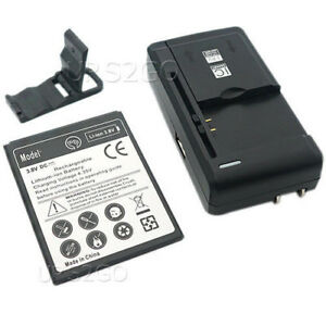 Details about Lot of High Power 2400mAh Battery Universal Charger f ZTE  ZFIVE C LTE Z558VL USA