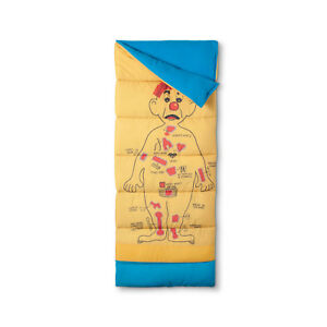 Classic Operation Game Sleeping Bag By Junk Food 75x33