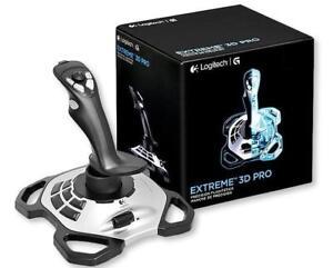 0ab8e316fda Logitech Extreme 3D Pro Joystick USB Flight Stick Games controller ...