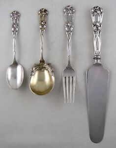 Sterling-Durgin-IRIS-1900-4-piece-collection
