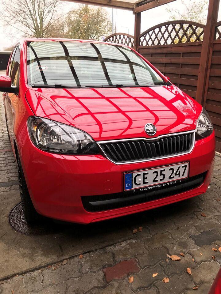 Skoda Citigo, 1,0 75 Active GreenTec, Benzin