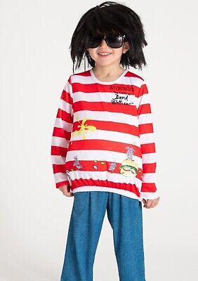 Abile Bnwt Bambini Rat-burger Multicolore Costume Costume Di Età Compresa Tra 9/10 Anni-mostra Il Titolo Originale Adottare La Tecnologia Avanzata