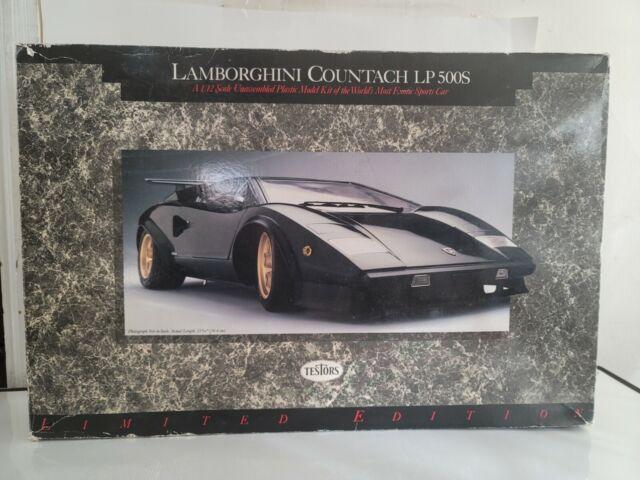 Testors 1/12 Lamborghini Countach LP500S Doyusha kit. 1988 Rare model