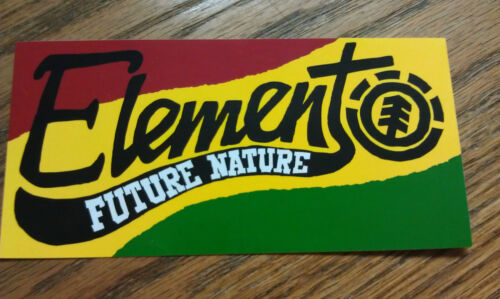 Very Nice Colors 5 x 2-1//2 Elementt Cool Sticker Future Nature