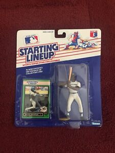 1989 Slu départ aligner Mickey Brantley au baseball