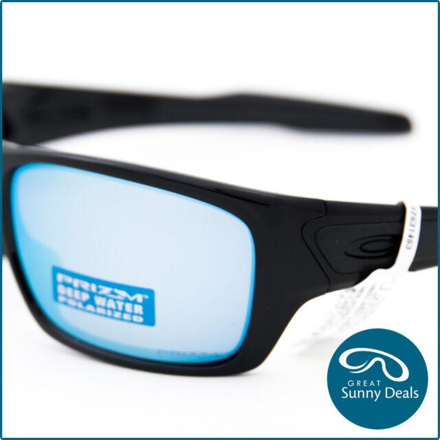 Puno apertura Già  Oakley Turbine Sunglasses OO9263-14 Polished Black/Prizm Deep Water  Polarized for sale online | eBay