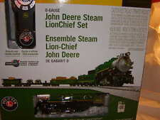 Lionel 6-83286 John Deere LionChief Remote 0-8-0 Steam Train Set MIB O 027 New
