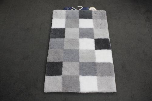 Petite Natte Nuage Caro 179 Flanelle 60x105 cm gris