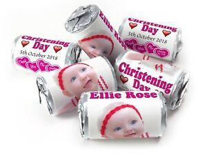 Personalised-Mini-Love-Heart-Sweets-for-Naming-Day-Girl-Silver-Foils-your-Image