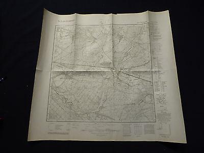 Erfinderisch Landkarte Meßtischblatt 3651 Briesen I.d. Mark, Demlitz, Madlitz, Kersdorf, 1945 Zu Den Ersten äHnlichen Produkten ZäHlen