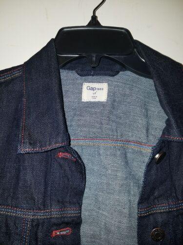 L Kontrast Stitch Women Gap Indigo Tall jakke Nwot Dark Denim 1969 Sz Icon FPw6Uq