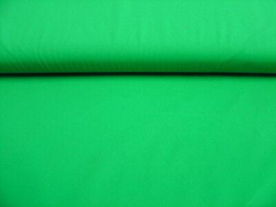 1,10 x 1,40 Meter Trikotstoff Stretch Stoff grün Meterware - #H51