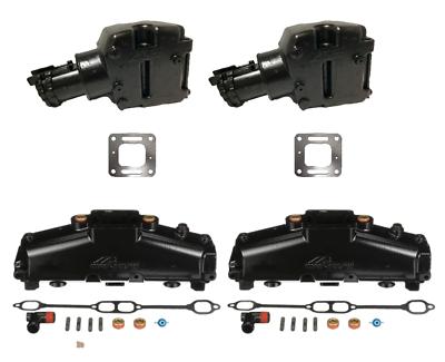 New// OEM MerCruiser 5.0 5.7 305 350 V8 Exhaust Manifold 860246Q11