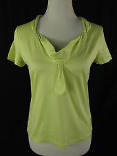 NICE CONNECTION Damenshirt Shirt Polera T-shirt 100% Baumwolle apfel-grün Gr. 40