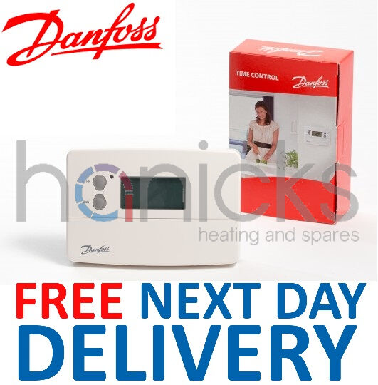 Danfoss TS715Si Single Channel Timeswitch 24 Hour 5/2 Or 7 Day 087N789900 *NEW*