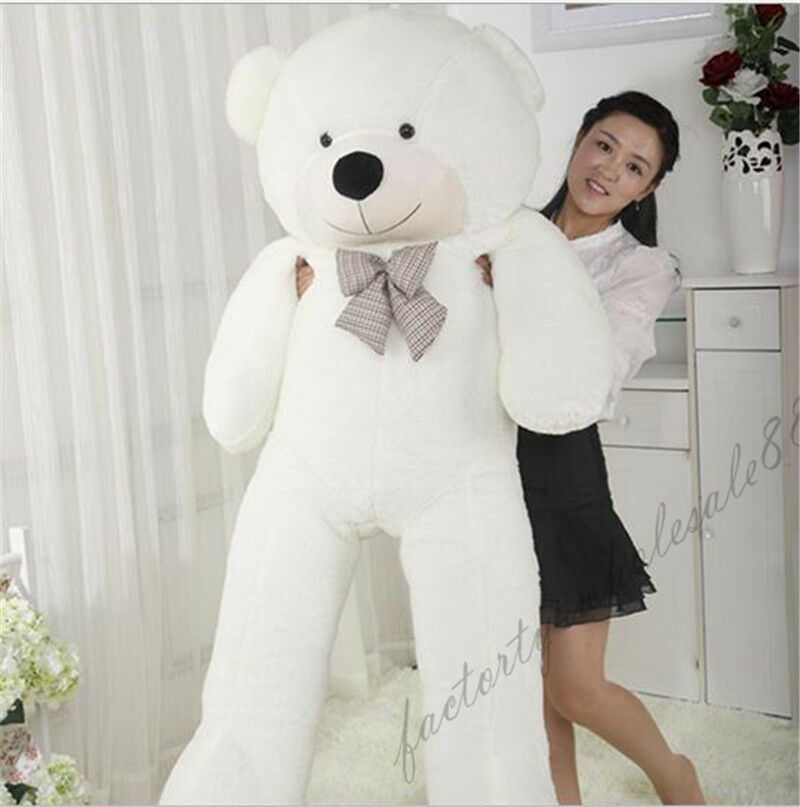 72''  bianca Teddy Bear Giant Huge Big Stuffed Animal Plush Soft 180cm Xmas gifts