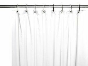 Carnation Home Fashions Jumbo Long Vinyl Shower Curtain Liner 72in