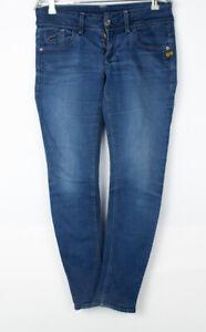 G-STAR RAW Women Low Skinny Stretch Jeans Size W29 L28