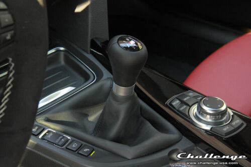 POMMEAU ET SOUFFLET CUIR  6 VITESSE BMW F30 F31 M M3 PIÈCE ORIGINAL 25112284555