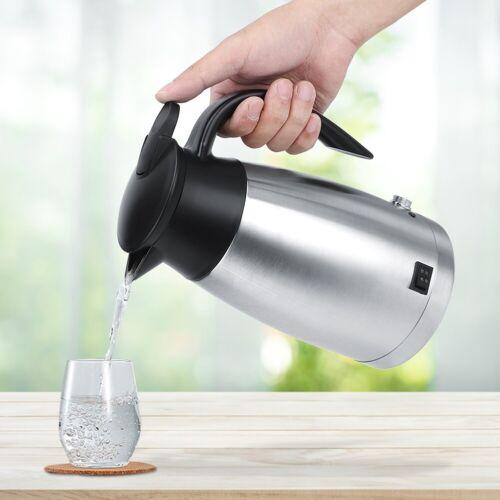 12V//24V 1000ml Car Truck Electric Hot Water Kettle Bottle Cup Practical