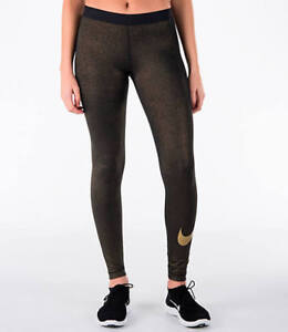 high fashion top design new styles Details about Nike Pro Women's Black/Metallic Gold Training Tights  (AQ4412-013) XS/S/M/L/XL