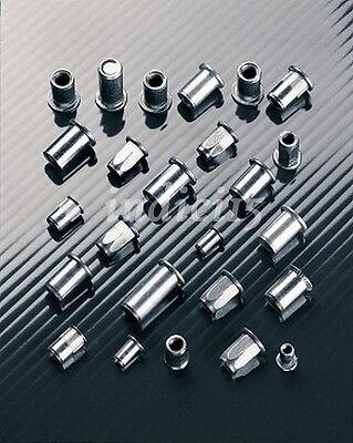50 Inserti Filettati Testa Cilindrica Alluminio M4 31M4 TP C L by sacto