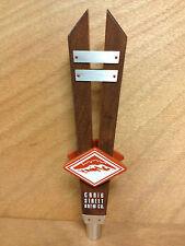 Craig Street Brew Co. Prevost Porter Tap Handle Marker ~ Duncan BC ~ NEW & F/S