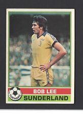 BOBBY KERR -#036- SUNDERLAND RED BACK 1977 TOPPS-FOOTBALL