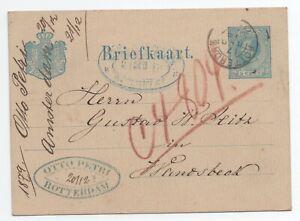 Travailleur Lettre Entier Postal Pays Bas A Voir