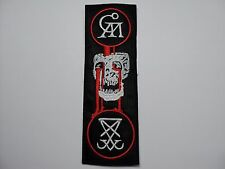 GOATWHORE  EMBROIDERED PATCH
