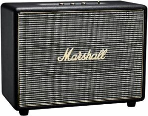 Marshall-Woburn-Bluetooth-Home-Speaker-with-Aux-RCA-Optical-Input-Black