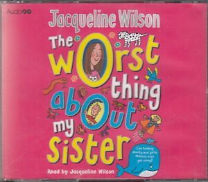 Jacqueline-Wilson-The-Worst-Thing-About-My-Sister-4CD-Audio-Book-Unabridged