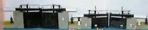 Canal-wide-lock-gates-sundries-F6-UNPAINTED-OO-Scale-Langley-Models-Kit-1-76