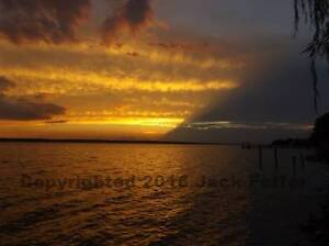 "Capahosic Sunset-17151 Photo S&N 11""x14"" sci-fi ""Peace: the Series"" Serenian"