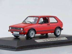 Scale-model-car-1-43-Volkswagen-Golf-GTi-red