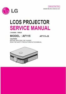 Manuals & Resources Panasonic DLP LCD LED Home Theater Projector ...