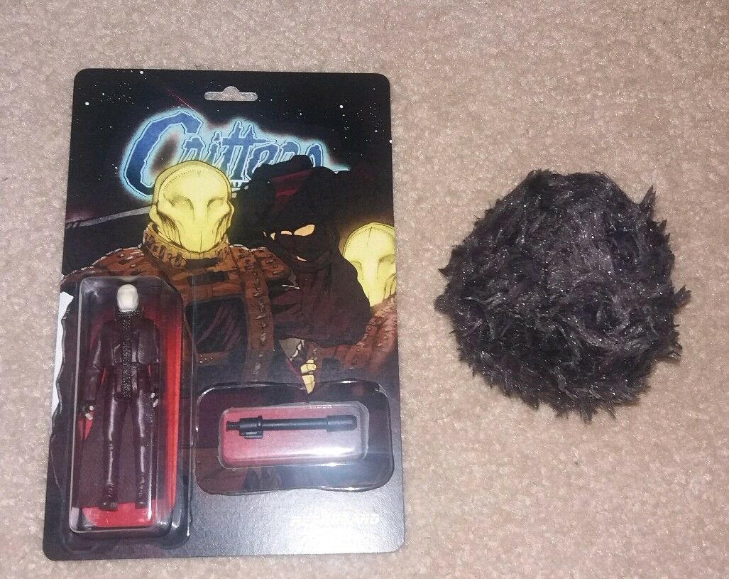 Retroband Bounty Hunter Figure Toy Resin Critters With Ball Sealed