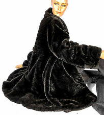 Barisal 42 Kunstpelzmantel Kunstpelz Webpelz Nerz fake fur coat like mink