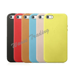 online store 1c4e9 5ab52 Details about New For MF045LL/A Apple iPhone 5/5S Leather Smart Case Slim  Protect Back Cover