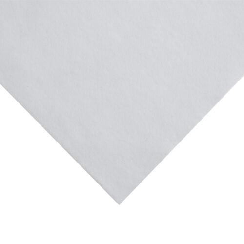 Acrylic Felt Roll 45cm Wide on a 1m Roll White