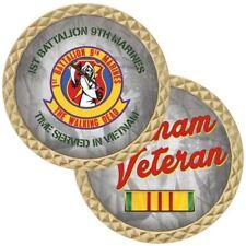MARINE CORPS USMC 3RD BATTALION 9TH 3//9 CHALLENGE COIN