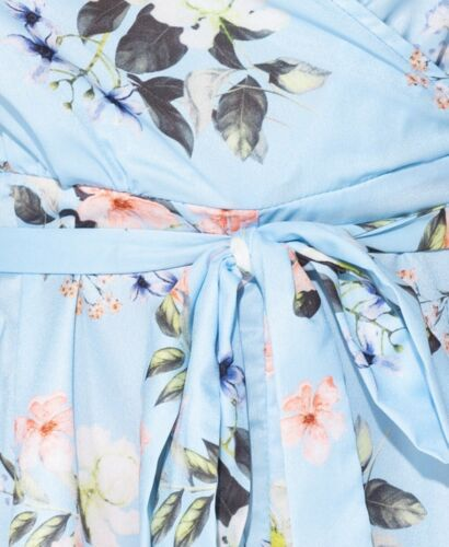 floreale con Playsuit cintura con incrocio 7x0Iq