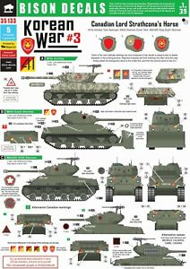 Bison-Decals-1-35-Lord-Strachconas-in-Korea-Canadian-Tanks-35133