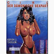 Girl der Dämonische Sexpakt Erotik Comicband KEVIN J TAYLOR Ewachsene PULP DRILL