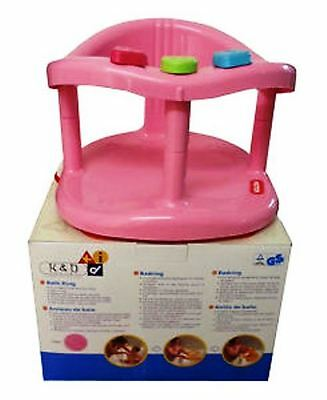 NIB Baby Bath Seat Ring KETER Tub With Tracking Number Free Shipping boys/girls
