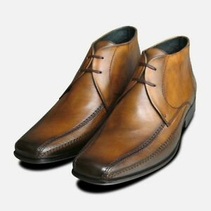 Aktiv Exceed Tan Chukka Boots For Men Uk GroßEs Sortiment