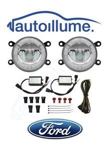 FORD-Focus-Mk2-5-Mk3-RS-ST-ZS-C-Max-Zetec-S-LED-DRL-Angel-Eye-Fog-Light-Kit
