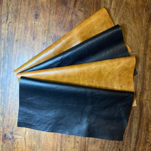 Colours TAN or BLACK VARIOUS SIZES U.K Supplier Genuine distressed leather