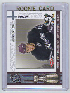 03-04-Quest-for-the-Cup-Joffrey-Lupul-Rookie-Card-RC-101-Mint-705-950-Rare